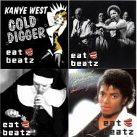 Funk Hiphop Reggae remixes edits mashups Eatbeatz