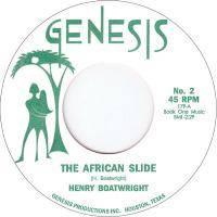 African Slide Git It Henry Boatwright