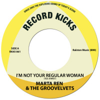 I'M Not Your Regular Woman Marta Ren Groovelvets