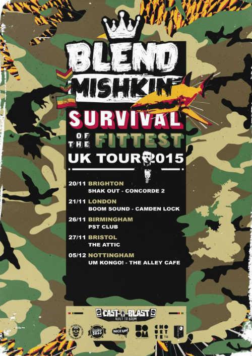 Survival Of The Fattest Tour Blend Mishkin 2015