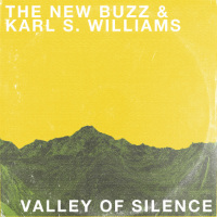 THE NEW BUZZ & KARL S WILLIAMS:  Valley Of Silence b/w Brisket Bits 45