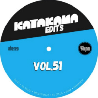 KATAKANA EDITS:  Vol. 51 (THE WORLDSTYLERS & DJ CLAIRVO)(2017)