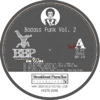 BREAKBEAT PARADISE RECORDINGS: Badass Funk Vol. 2 (Vinyl 12