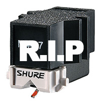 SHURE:  Discontinuation of phono products summer 2018