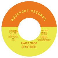 LIVING COLOUR: Plastic People (Vinyl 7