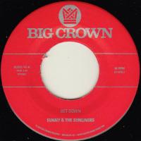 SUNNY & THE SUNLINERS:  Get Down b/w Cross My Heart (Vinyl 7