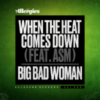 THE ALLERGIES:  When The Heat Comes Down/ Big Bad Woman (Vinyl 7