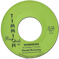 GERALD MCCAULEY & COLD DIAMOND & MINK:  Wondering (Vinyl 7
