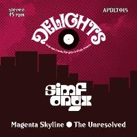 SIMFONYX: Magenta Skyline b/w The Unresolved (Vinyl 7
