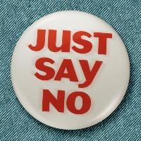 BRONX SLANG: Just Say No